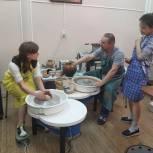 Партпроект «Единой России» помог оборудовать гончарную мастерскую для людей с ментальными нарушениями