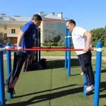 Дмитрий Хубезов принял участие в «Зарядке с директором»