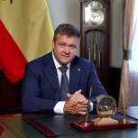 Николай Любимов поздравил рязанцев с Днем Весны и Труда