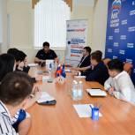 Дамир Фахрутдинов провел «круглый стол» с участниками проекта «ПолитСтартап»