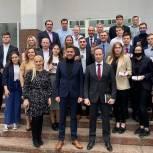 Роман Терюшков вручил удостоверения новоизбранным членам молодёжного парламента Люберец