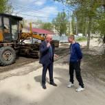 В Заводском районе Саратова продолжается ремонт дорог при содействии депутата от «Единой России»