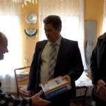 Егорьевского ветерана обеспечили бесплатным интернетом