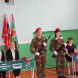 В Троицком районе открыли две Парты Героя