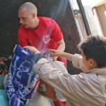 Волонтеры «Единой России» отправили партию гуманитарной помощи пострадавшим от пожара в деревне Каракуль Омской области