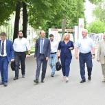 Александр Гуляков провел рабочую встречу с представителями управляющей компании НОЦ «Инженерия будущего»