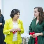Ирина Роднина в Химках посетила открытие ресурсного центра для женщин