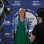Депутат Мособлдумы Алла Полякова посетила участки предварительного голосования партии «Единая Россия» в Королеве