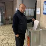 Александр Баранов проголосовал на НПО «Прибор» в Апрелевке