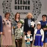 Город Сасово стал первым в эстафете всероссийской акции «Белый цветок»