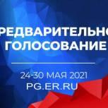 В Томской области продолжается регистрация на предварительное голосование