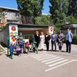 Депутаты помогли благоустроить территорию одного из детских садов Махачкалы