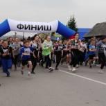 В Новокузнецком районе прошел легкоатлетический пробег в честь Дня Победы
