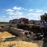 В Александро-Невском районе возводят пристройку к детскому саду на 60 мест