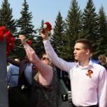 В Сибири в День Победы «Единая Россия» организовала акции в честь ветеранов