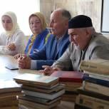 «Единая Россия» передала книги республиканскому госпиталю ветеранов войн в Грозном