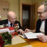 Валерий Савельев поздравил ветеранов Великой Отечественной войны