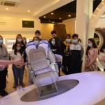 Воспитанники жигулевской школы-интерната впервые побывали в музее «Самара космическая» по инициативе Дмитрия Азарова