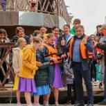 Олег Жолобов поздравил домодедовцев с открытием лодочной станции в парке культуры и отдыха «Ёлочки»