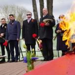 Владимир Вшивцев принял участие в торжественной церемонии закладки капсулы времени в Тучково