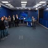 В Северной Осетии участники предварительного голосования приняли участие в церемонии соединения ключей шифрования