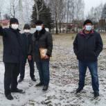 Депутат облдумы проконтролировал реализацию проектов в районном центре