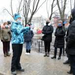 Рязанцы приняли участие в народной приемке «Сквера на Трудовой»