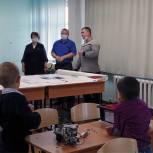 Татьяна Косьяненко оценила ход реализации нацпроекта в школе села Спасское