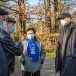 Реконструкцию сквера на улице Неделина в Одинцово обсудил с общественниками Дмитрий Голубков