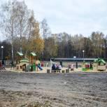 Опушка Медведевского леса преображается