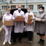 Елена Митина поддержала медиков, работающих в «красной зоне»