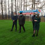 Юрий Смирнов проверил качество благоустройства стадиона в Фурманове