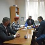 Пителинцы обратились к областному депутату по поводу ремонта культурно-спортивного комплекса