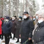 Николай Бушков принял участие в церемонии перезахоронения советского солдата