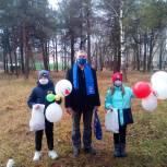 Лузские единороссы поздравили горожан с праздником