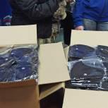 Сергей Пахомов передал королёвским волонтёрам средства индивидуальной защиты