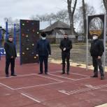 В Сасовском районе появилась спортивная площадка для выполнения нормативов ГТО