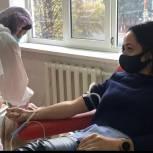 «Единая Россия» организовала акцию по сдаче крови