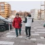 Волонтеры «Единой России» Сергиева Посада провели акцию по раздаче медицинских масок