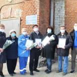 Депутат поблагодарил медиков «скорой» за самоотверженный труд