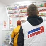 Молодогвардейцы проверяют цены на лекарства и средства защиты в рязанских аптеках