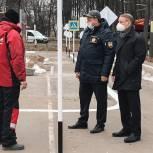 Аркадий Фомин оценил качество работ в центральном парке Рязани