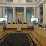 В региональном парламенте состоялся «правительственный час»