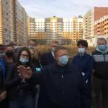 Панков: Нельзя допустить срыва строительства ЖК «Победа»