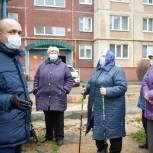 Мэр города Орла встретился с жильцами дома ул. Металлургов, 54