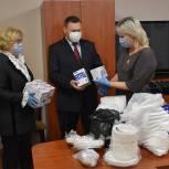 Татьяна Панфилова и Владимир Рожков поддержали сасовских врачей