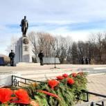 В Новомичуринске состоялась церемония открытия памятника защитникам Отечества