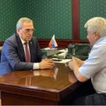 Депутат Государственной Думы Абдулмажид Маграмов провел ряд встреч в рамках региональной недели