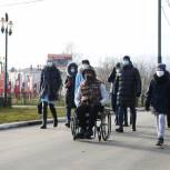 Единороссы Орехово-Зуева проверили доступность городские маршрутов для маломобильных граждан