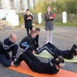 В Слободском районе провели выездные спортивные соревнования «Зарница»
